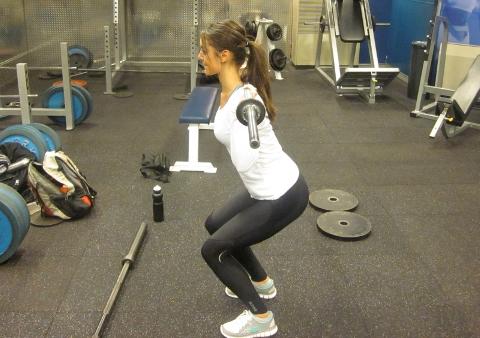 quarter-squat