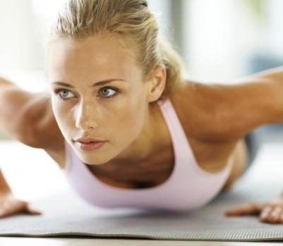 Woman Workout 401x349 برجسته کردن سینه با تمرینات ساده