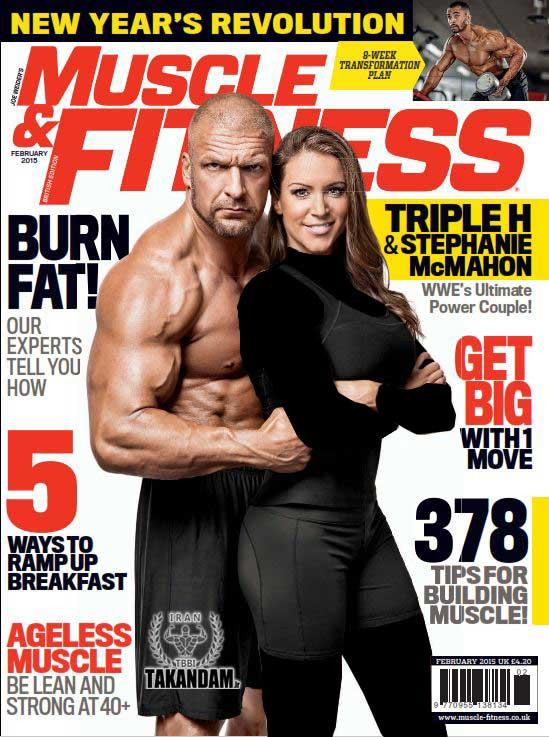 2525 دانلود مجله بدنسازی Muscle & Fitness February 2015