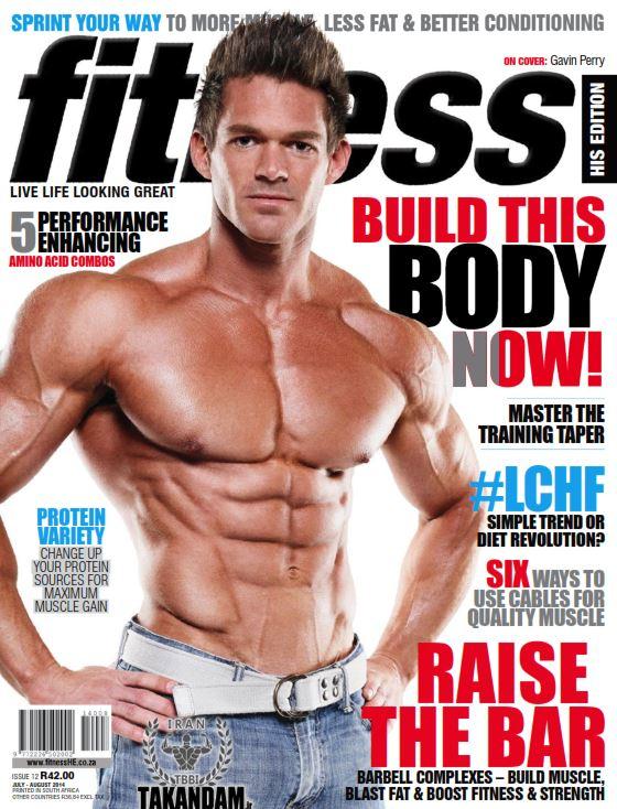 fitness2014 7 دانلود مجله فیتنس حرفه ای Fitness January February 2014