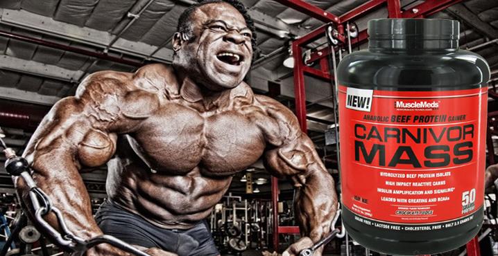 Musclemeds carnivor mass ba بررسی گینر کارنیوار مس Carnivor Mass MuscleMeds