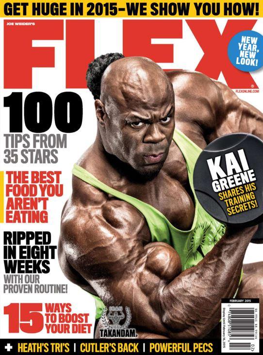دانلود مجله بدنسازی حرفه ای Flex USA February 2015
