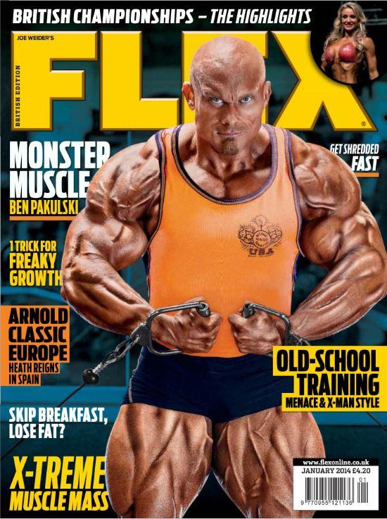 دانلود مجله بدنسازی Flex Junuary 2014