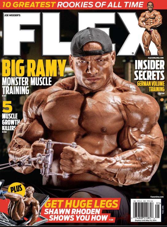 دانلود مجله حرفه ای بدنسازی Flex May 2014