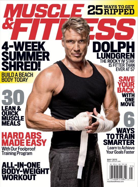 001 دانلود مجله بدنسازی Muscle & Fitness May 2015