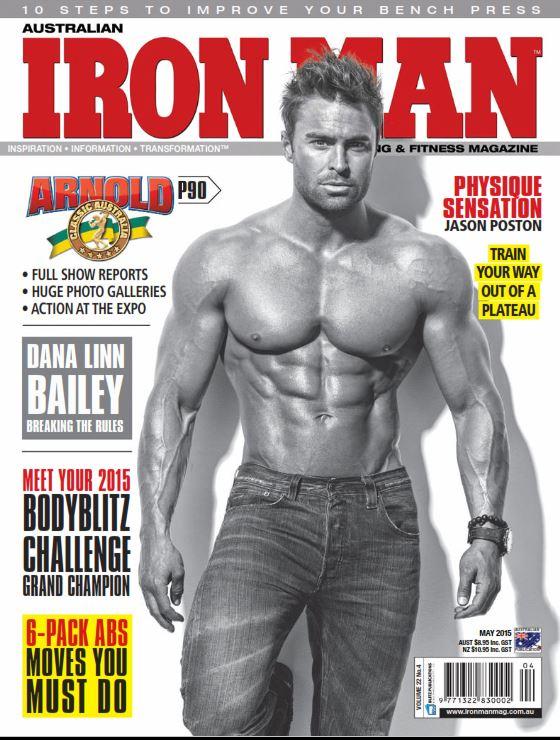 iron man2015 دانلود مجله بدنسازی Iron Man May 2015