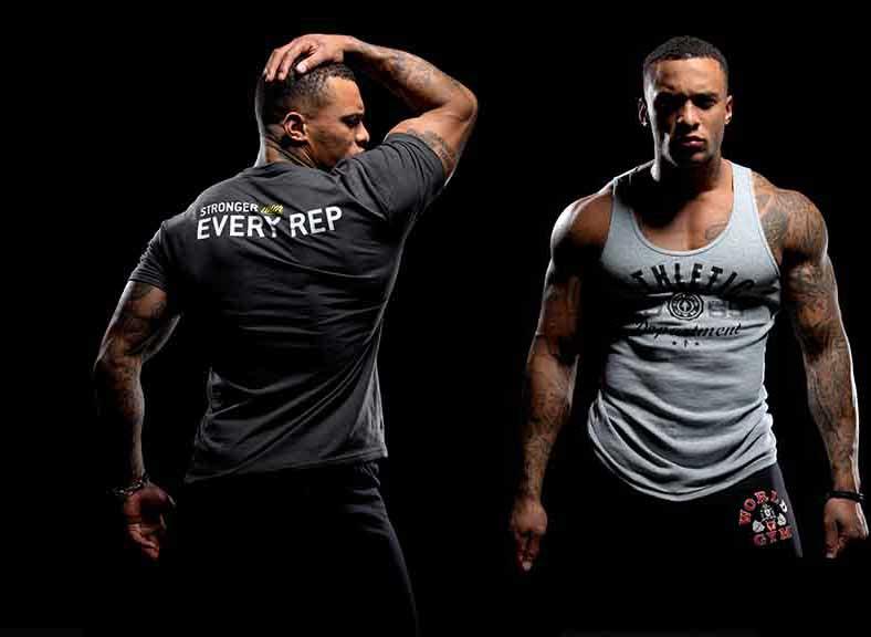 bodybuilding خرید تیشرت های بدنسازی با طرح های متفاوت
