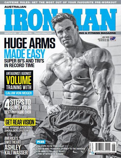 iron man2015 دانلود مجله بدنسازی Iron Man July 2015