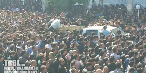 تصاویر تشییع جنازه بیت الله عباسپور