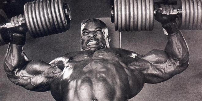 عضلات سینه به سبک رونی کلمن